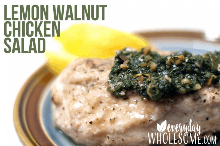 LEMON WALNUT CHICKEN SALAD RECIPE