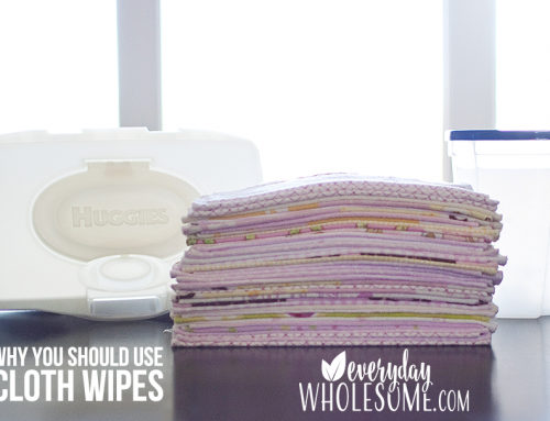IF YOU CLOTH DIAPER, YOU MUST CLOTH WIPE