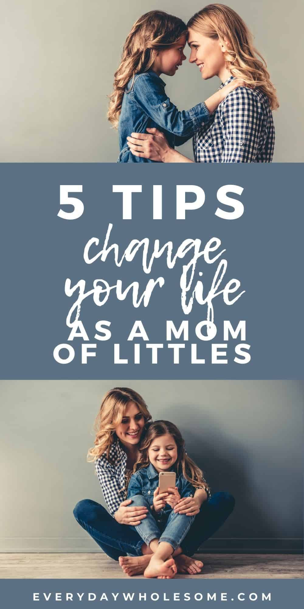 5 TIPS BRING JOY AS MOM OF LITTLES PIN