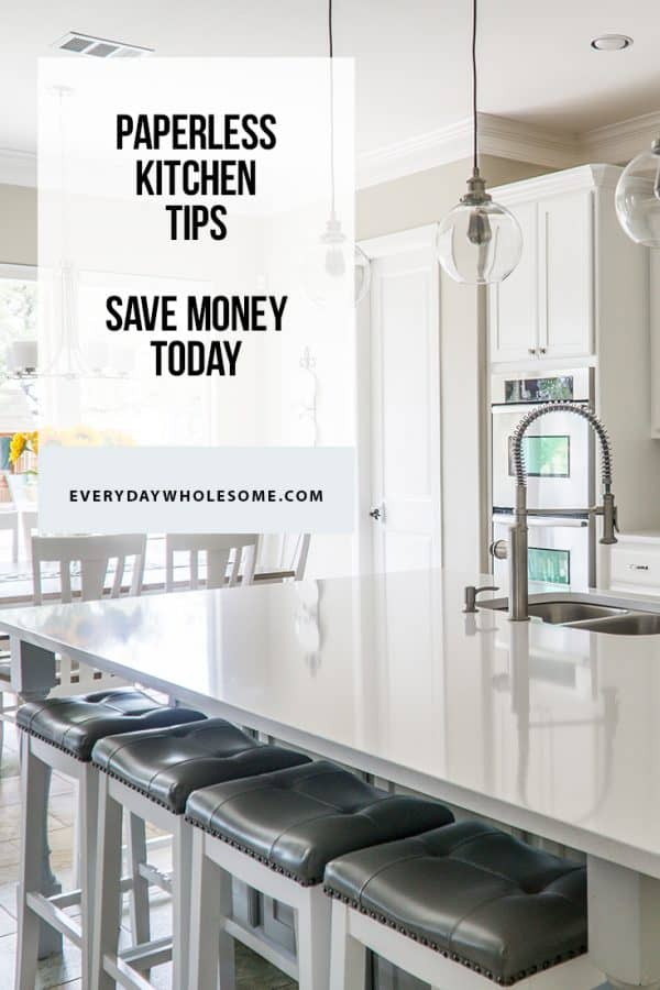 Paperless Kitchen Tips and Tricks