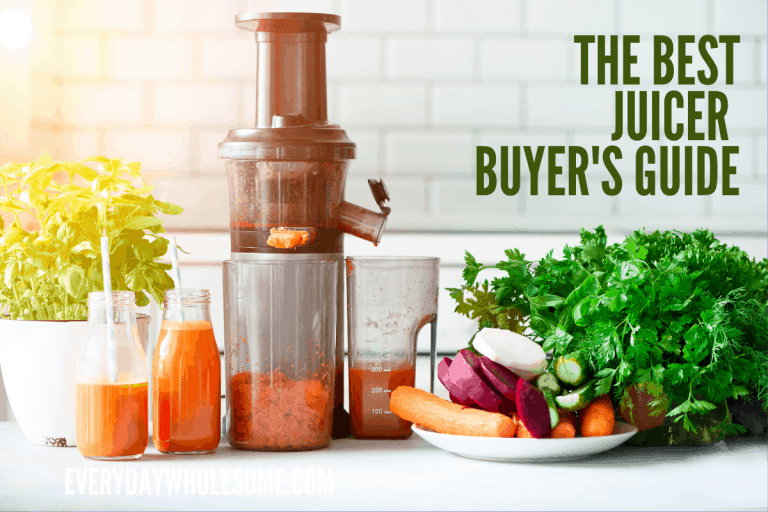 JUICING FOR LIFE   BUYER'S GUIDE