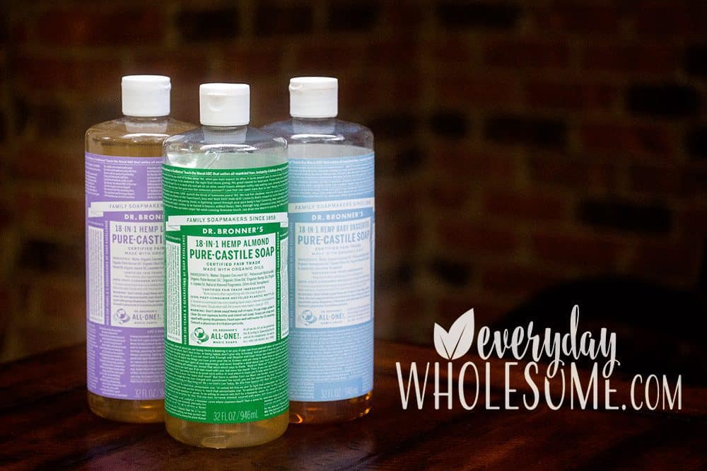 MY LOVE OF CASTILE SOAP. IS IT SAFE?