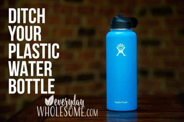 BEST ALTERNATIVE TO PLASTIC WATER BOTTLE