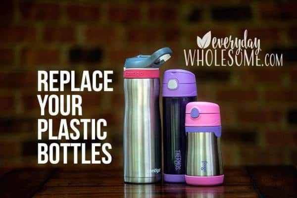 PLASTIC WATER BOTTLE ALTERNATIVE