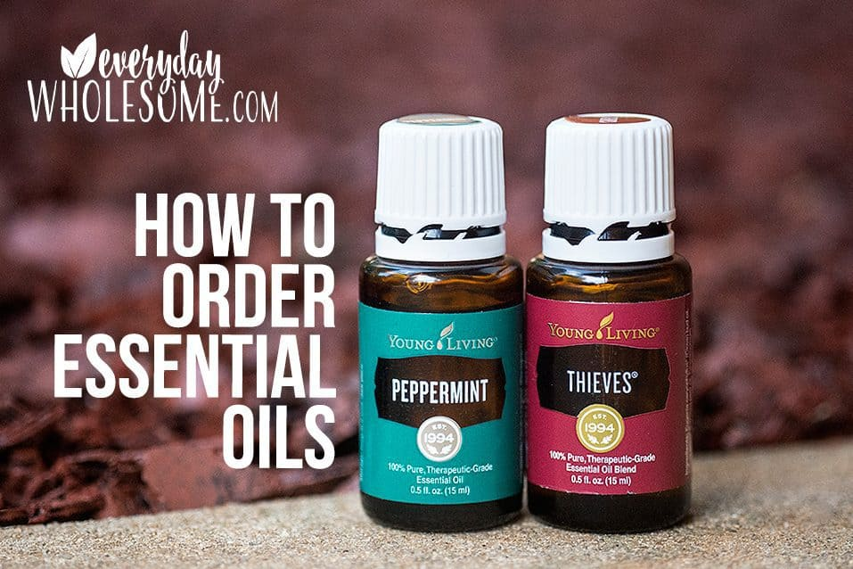 HOW TO ORDER ESSENTIAL OILS