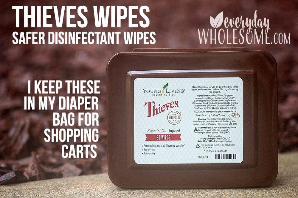 safer disinfectant wipes