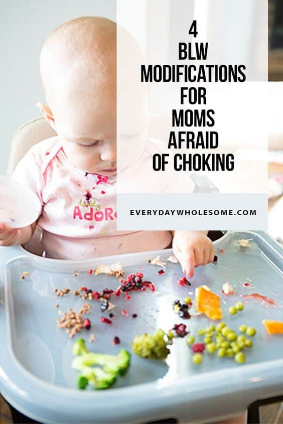 4 BABY LED WEANING HACKS MODIFICATONS FOR MOMS AFRAID CHOKING