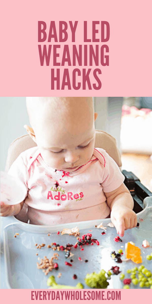4 BABY LED WEANING HACKS AND TIPS FOR 6 MONTH OLD BABIES WITH NO TEETH