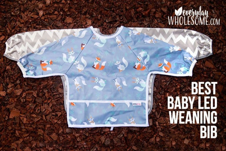 The Best Baby Led Weaning Long Sleeve Bibs Compared | Review
