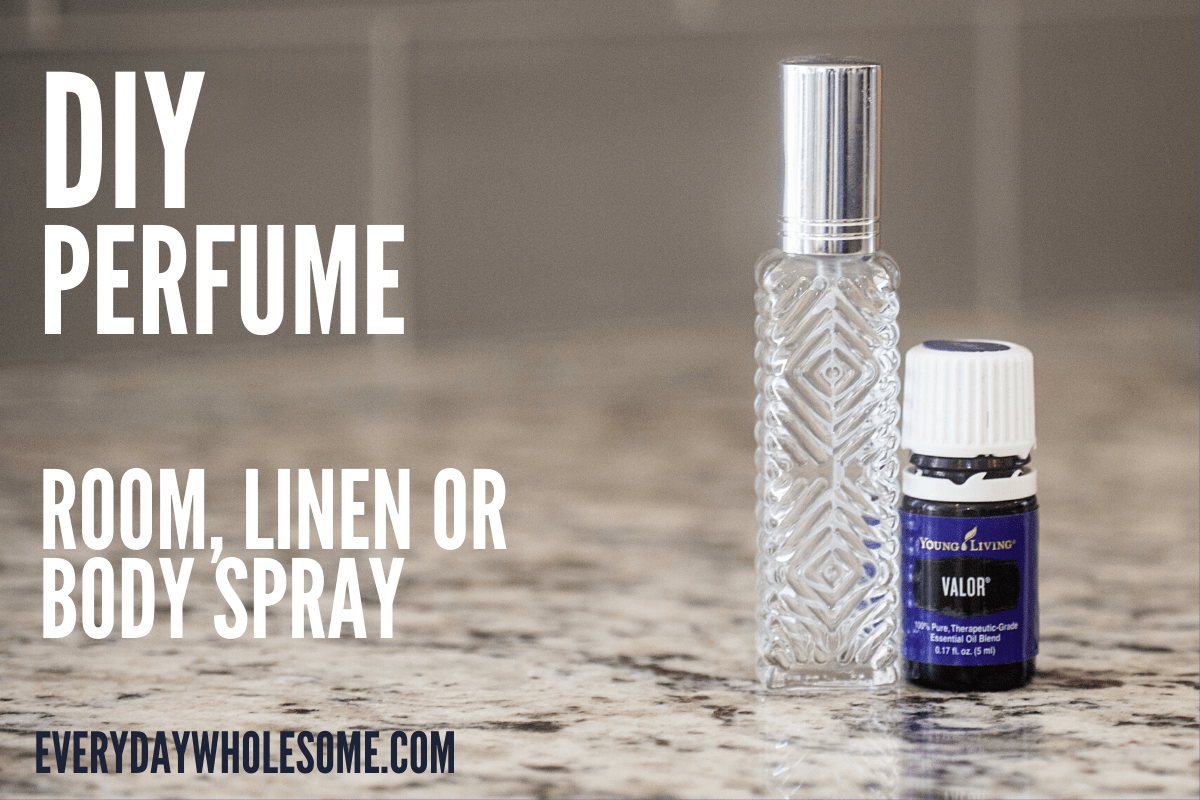 DIY PERFUME SPRAY RECIPE
