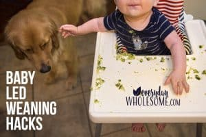 baby led weaning hacks modifications