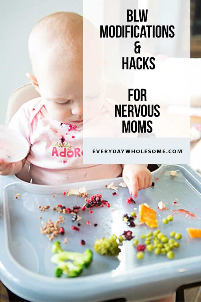 baby led weaning hacks modifications nervous moms