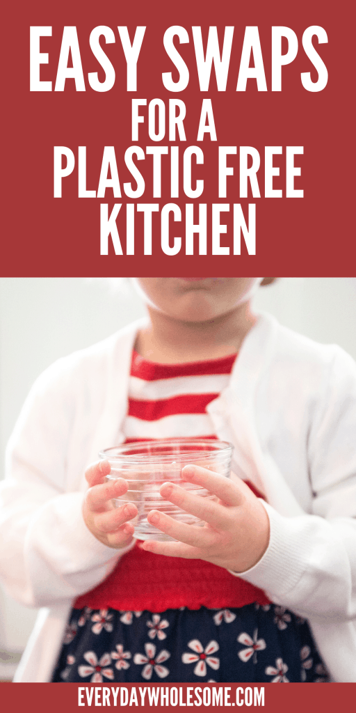 PLASTIC FREE KITCHEN TIPS TO SWAP FOR SAFER KITCHEN. KITCHEN ORGANIZATION
