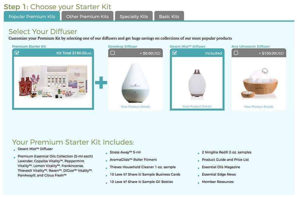 choose your starter kit
