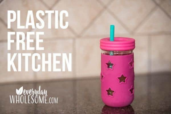 plastic free kitchen no more