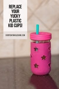 PLASTIC FREE KITCHEN AND CHILDREN CUPS ALTERNATIVE