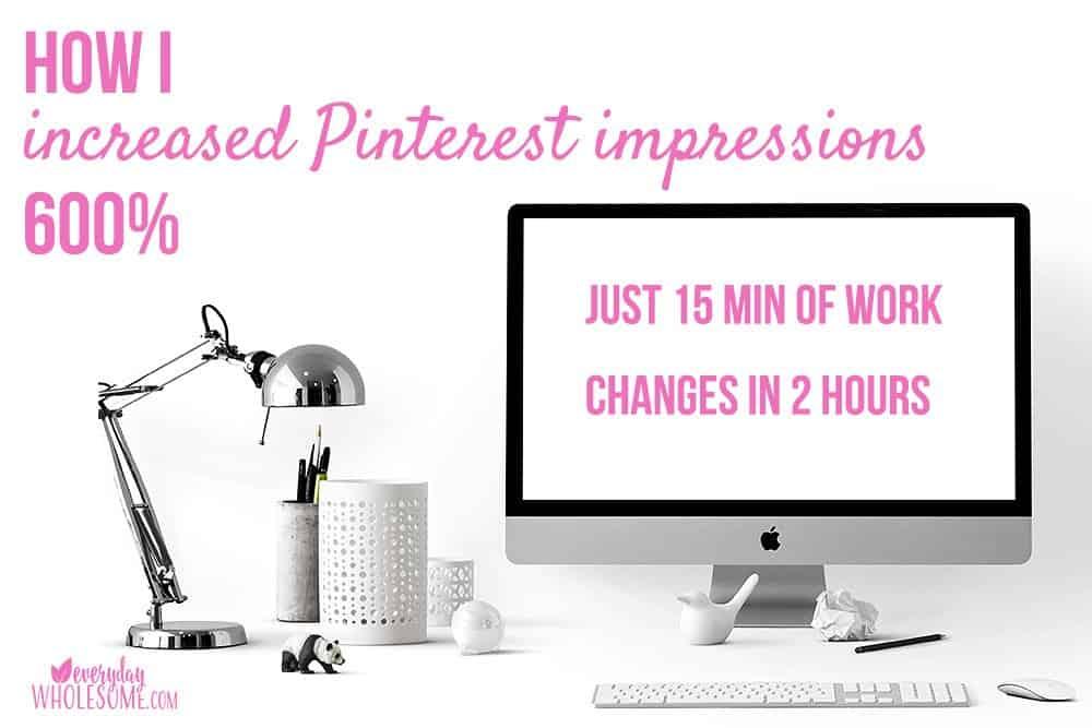 increase traffic blog Pinterest impressions