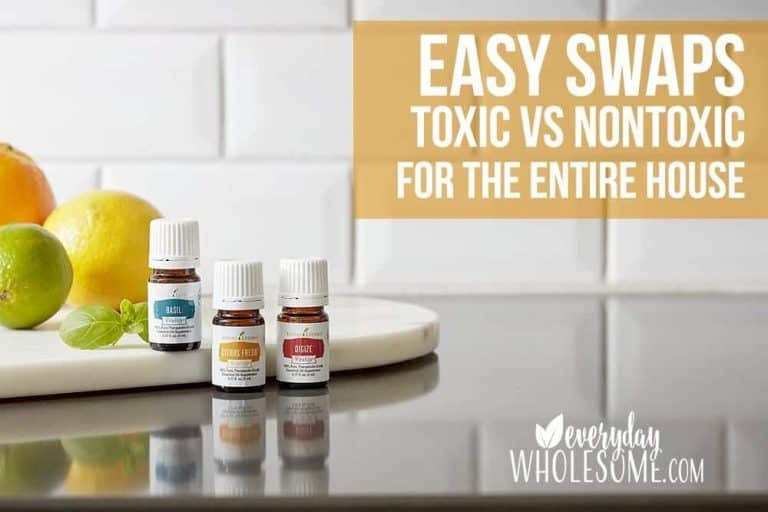EASY SWAPS FOR A TOXIN FREE HOME