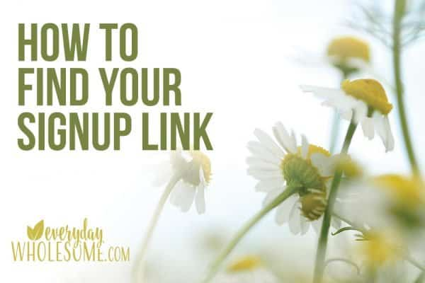 HOW TO FIND YOUR YOUNG LIVING SIGNUP LINK