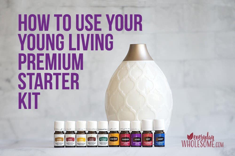 how to use premium starter kit psk young living
