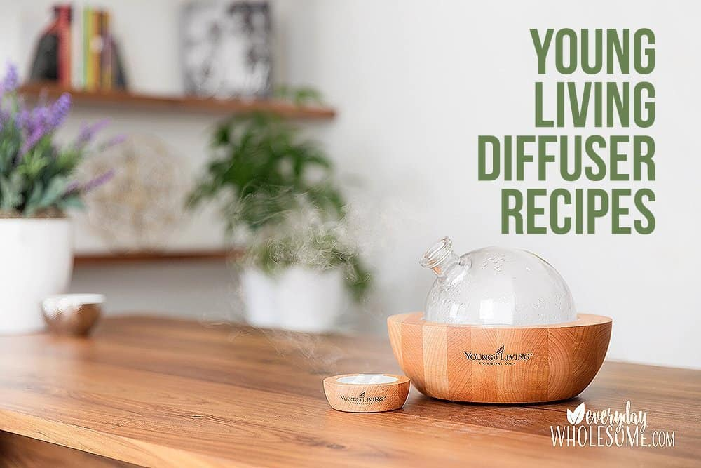 YOUNG LIVING DIFFUSER RECIPE GUIDE LIST