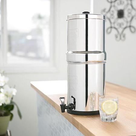 Berkey Water Filter (the best water filter)