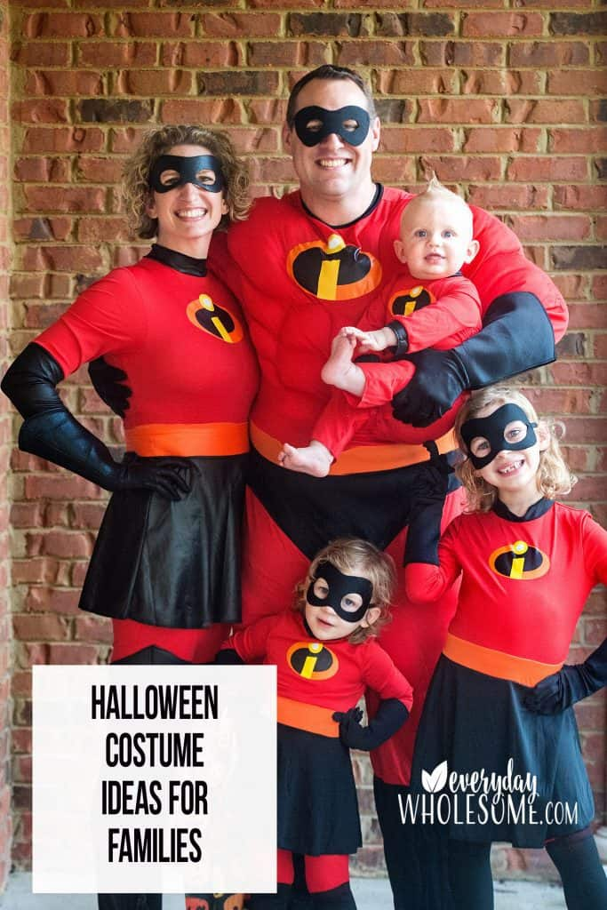 FAMILY HALLOWEEN COSTUME IDEAS FAMILIES