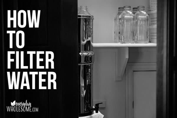 BEST WATER FILTER FOR FAMILIES WHAT'S IN MY WATER