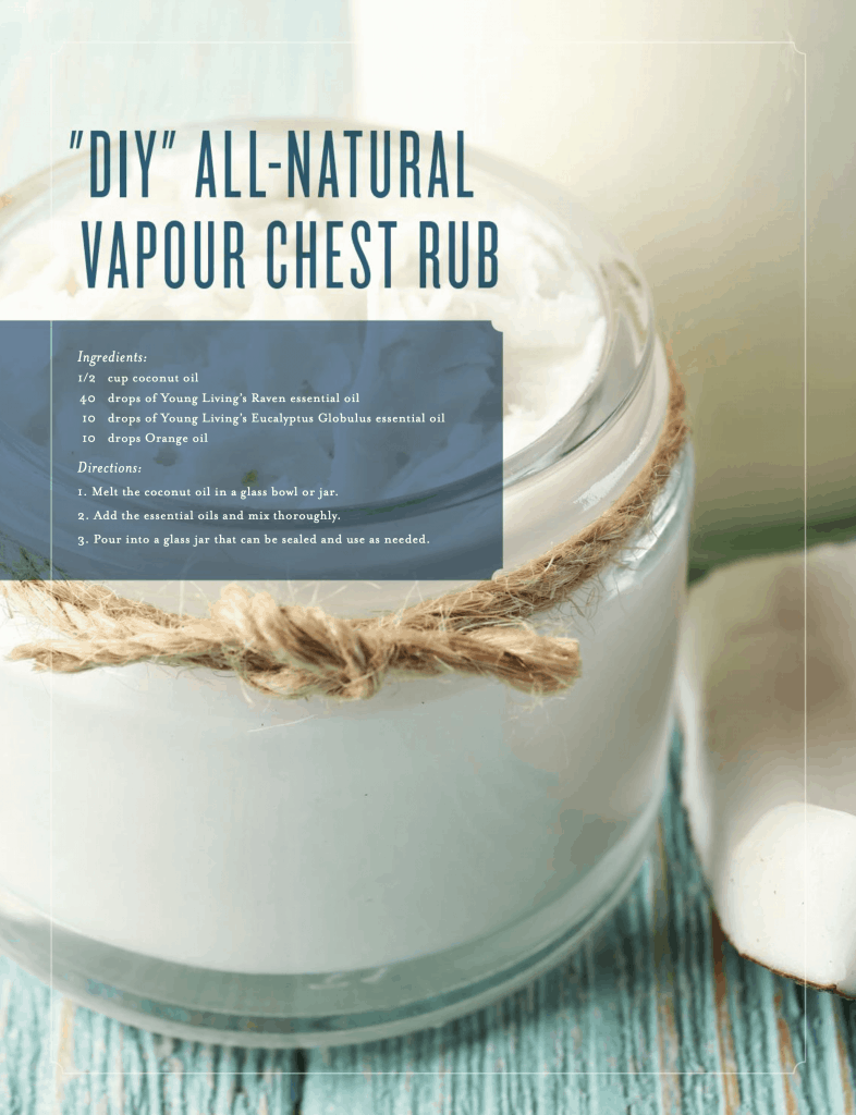 DIY NATURAL VAPOUR CHEST RUB VAPOR