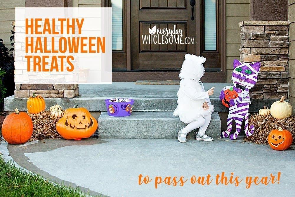 healthy Halloween treats