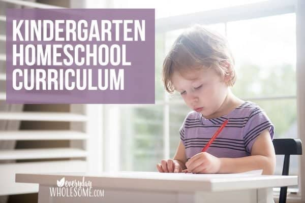 The Kindergarten Homeschool Curriculum our family used a few years ago. We homeschooled kindergarten because we could not find a school that was half day and I had a young 5 year old and was not ready to send her to all day school. These are our Kindergarten Homeschool Curriculum Choices.