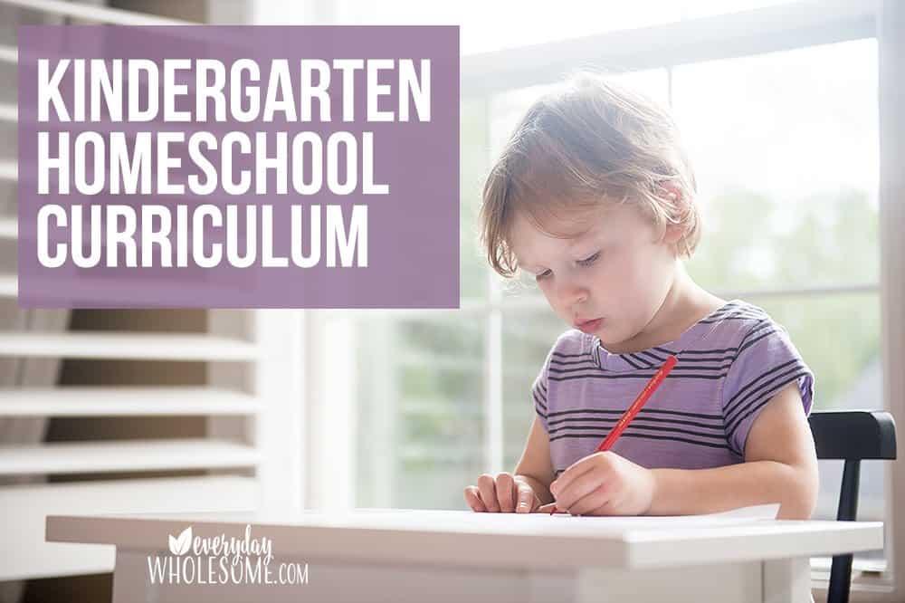 best kindergarten homeschool curriculum