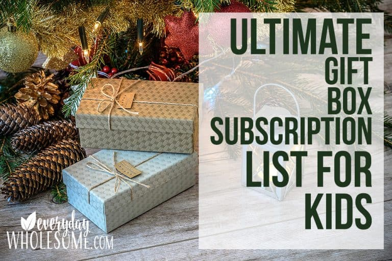 140 BEST CHRISTMAS GIFT SUBSCRIPTIONS FOR KIDS FOR 2020