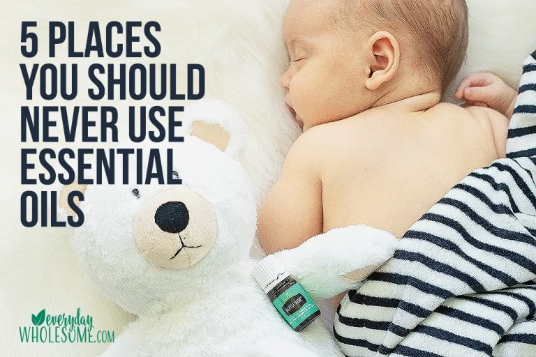 5 Places you should NEVER use Essential oils