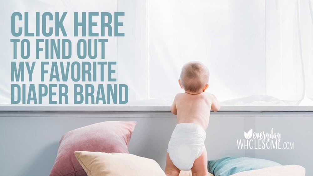 best natural bamboo disposable diaper brand