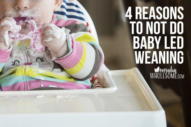 4 Reasons NOT to use Baby Led Weaning