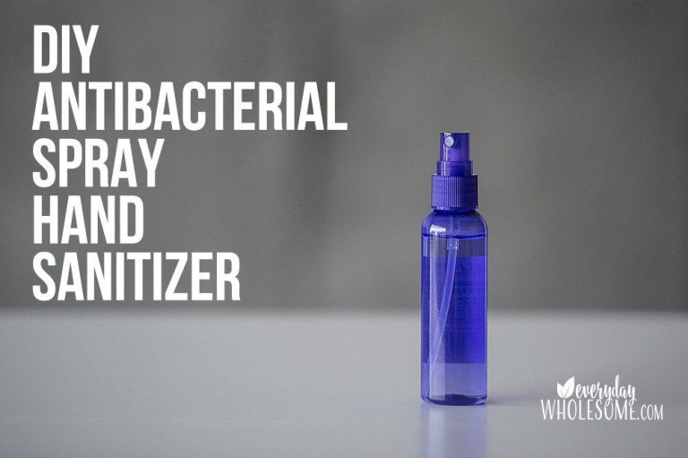 DIY Homemade Spray Hand Sanitizer Recipe