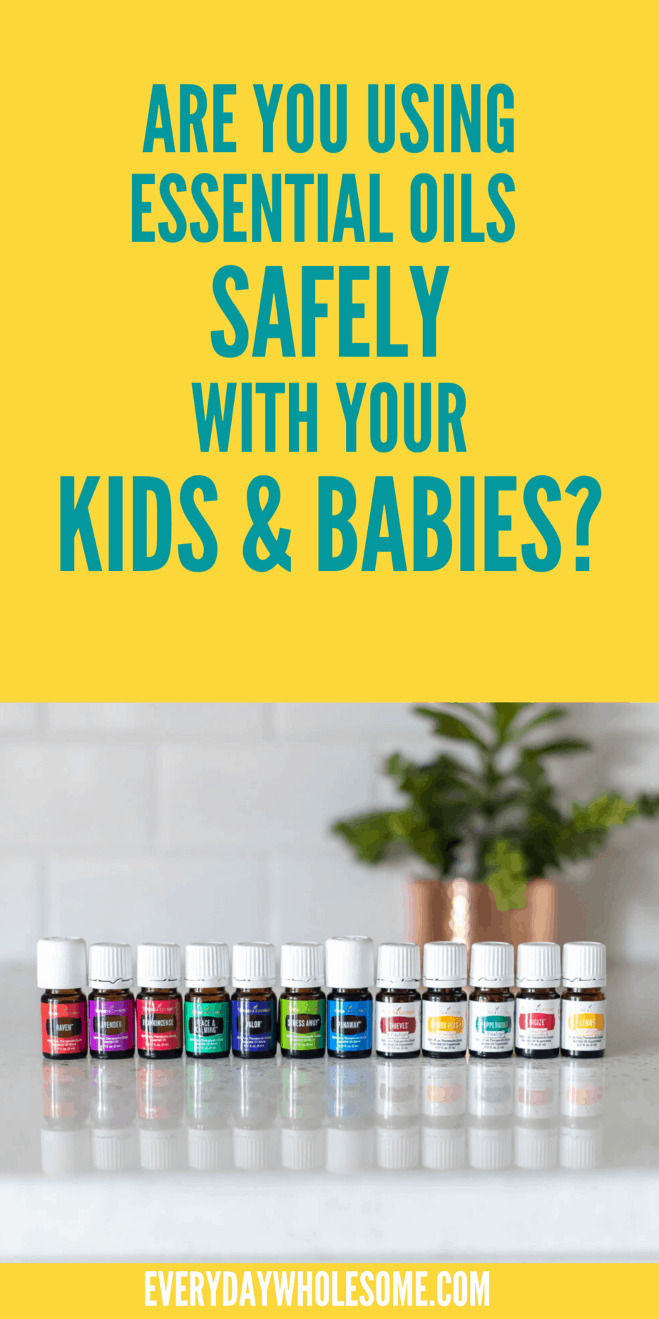 Essential oil safety for kids and babies