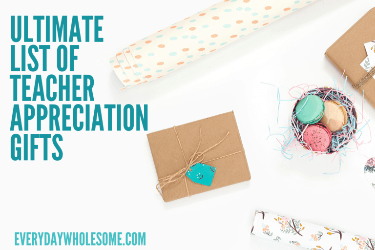 Ultimate List of Teacher Appreciation Week Gift Ideas | DIY Handmade Easy Simple