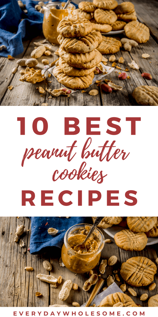 10 BEST PEANUT BUTTER COOKIES RECIPES