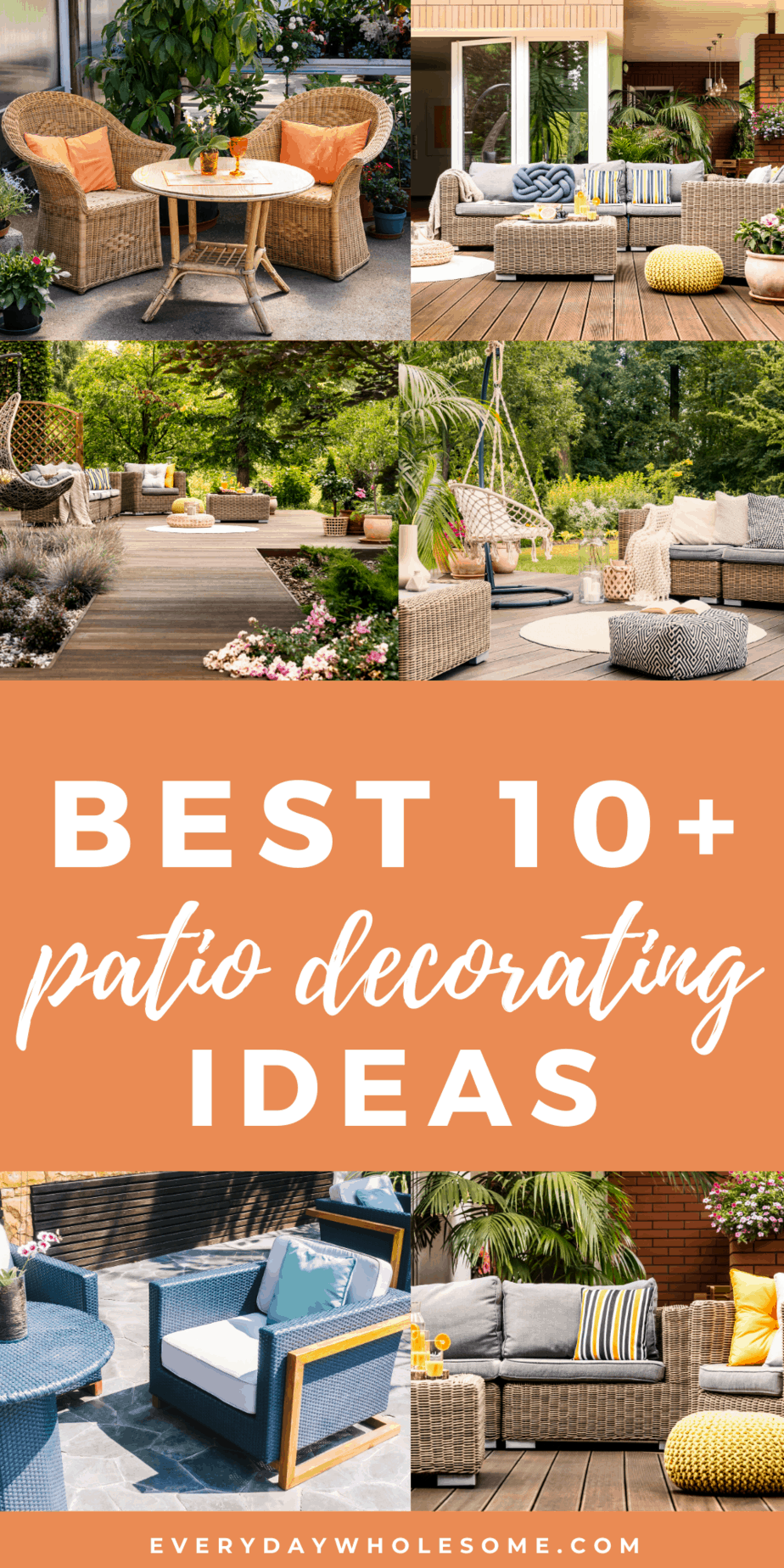 BEST 10 PATIO DECORATING IDEAS