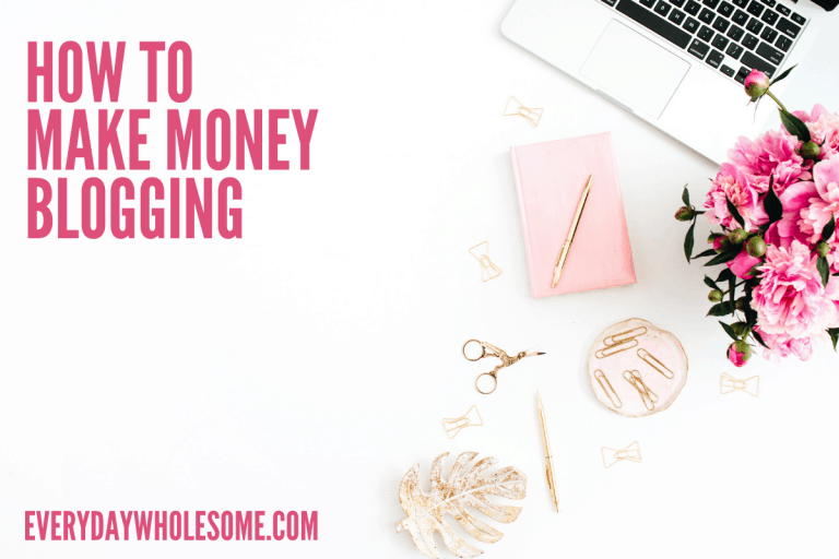 How to make money from home | Blogging