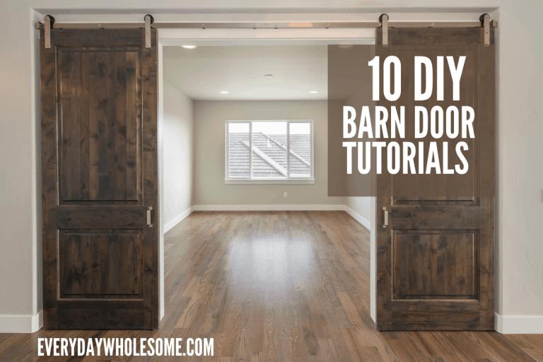 10 Best DIY Barn Door Tutorials
