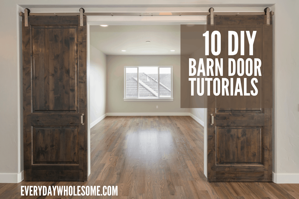 10 best diy barn door tutorials