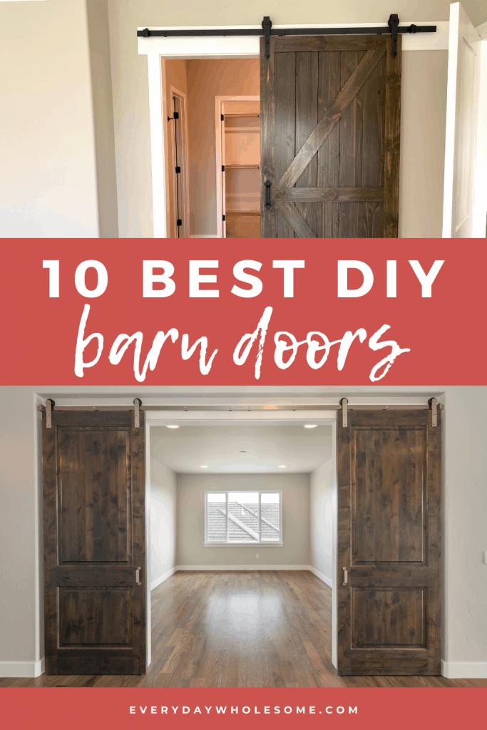10 best diy barn doors for your home decor