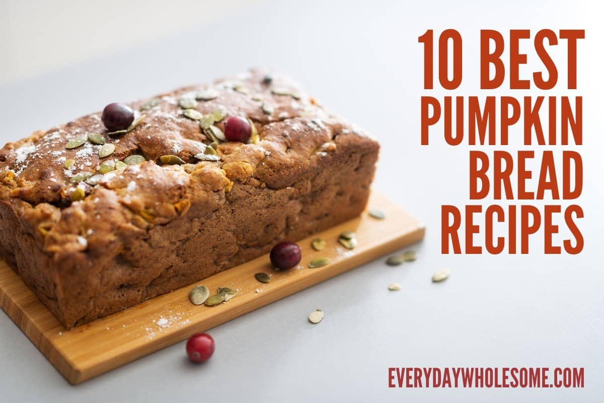 10 best pumpkin bread recipes featured