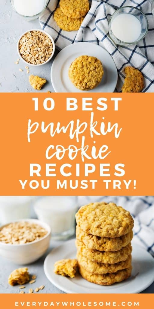 10 best pumpkin cookie recipes for you