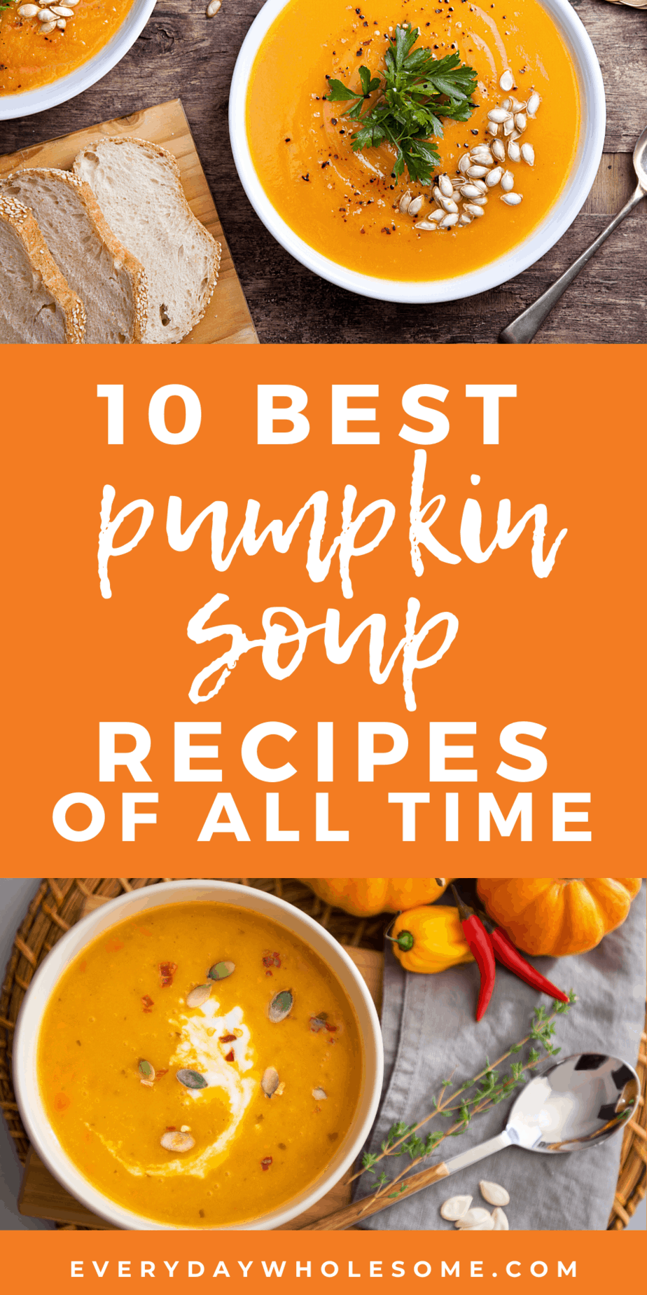 10 best pumpkin soup recipes of all time pin