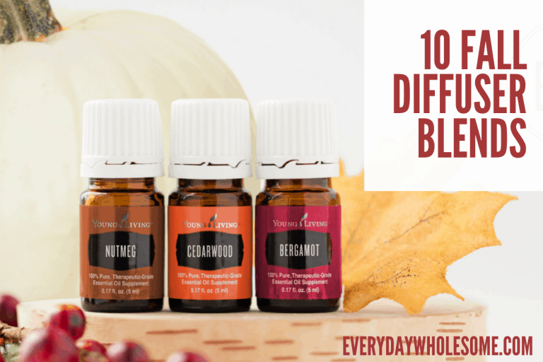 Best Fall Scented Essential Oils | Recipes & Blends for Autumn Holiday Season