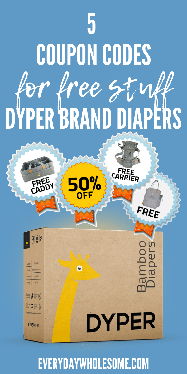 5 COUPON CODES DYPER BRAND DYPERS